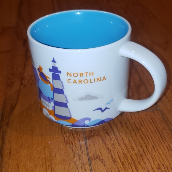 Starbucks You Are Here Collection North Carolina
